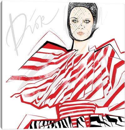 Fashion Week Dior Canvas Art Print