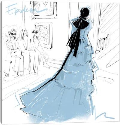 Fashion Week Erdem Canvas Art Print