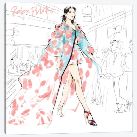 Fashion Week Peter Pilotto Canvas Print #LVD22} by Alena Lavdovskaya Canvas Print