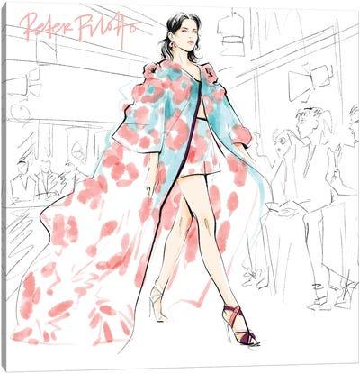 Fashion Week Peter Pilotto Canvas Art Print