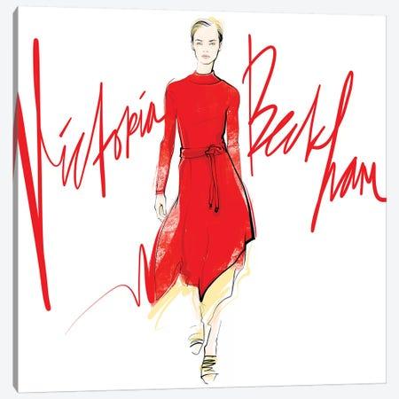 Fashion Week Victoria Beckham Canvas Print #LVD23} by Alena Lavdovskaya Canvas Print