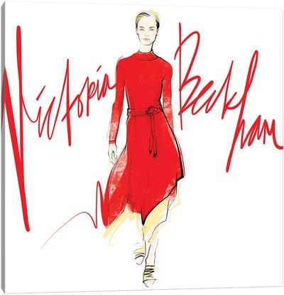 Fashion Week Victoria Beckham Canvas Art Print