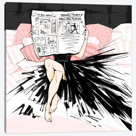 Good News Canvas Print #LVD26} by Alena Lavdovskaya Canvas Wall Art