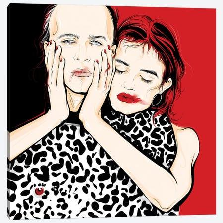 Love Canvas Print #LVD36} by Alena Lavdovskaya Canvas Art Print