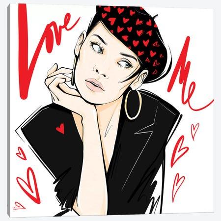 Love Me Canvas Print #LVD37} by Alena Lavdovskaya Canvas Print
