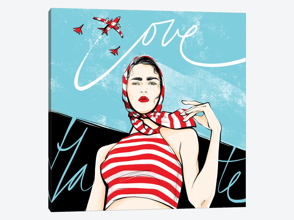 Love Or Hate by Alena Lavdovskaya 1-piece Canvas Art Print
