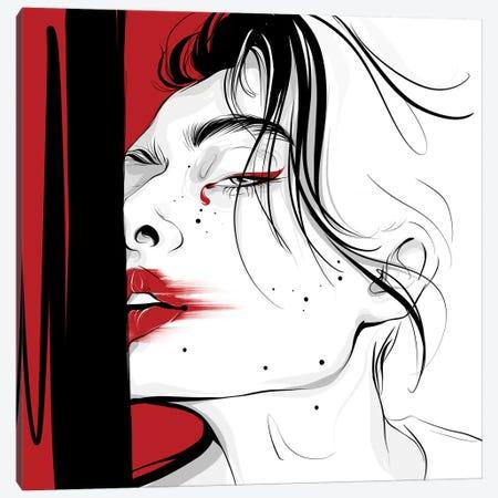 Sensuality Canvas Print #LVD49} by Alena Lavdovskaya Art Print