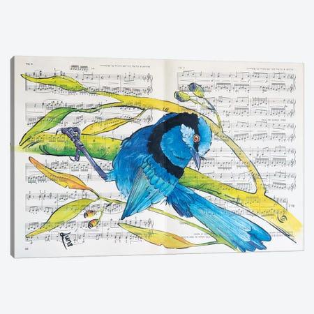 Spot Of Splendid Canvas Print #LVE104} by Luna Vermeulen Canvas Art