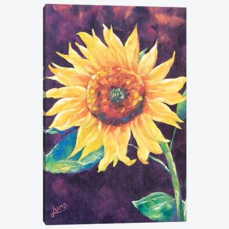 Sunburst Canvas Print #LVE106} by Luna Vermeulen Canvas Wall Art