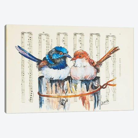 Bush Duet Canvas Print #LVE10} by Luna Vermeulen Canvas Art Print