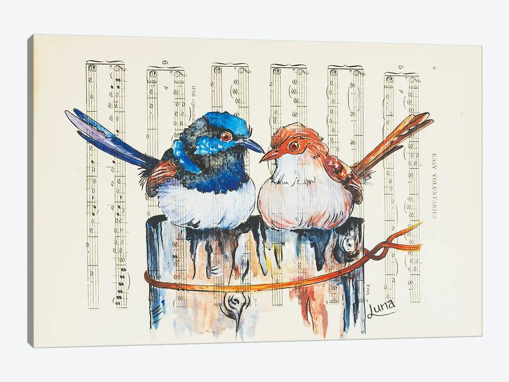 Bush Duet by Luna Vermeulen 1-piece Canvas Print