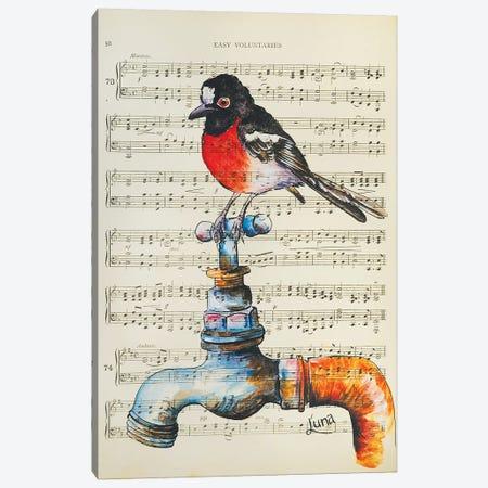 Thirsty Canvas Print #LVE112} by Luna Vermeulen Canvas Wall Art