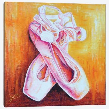 Tippy Toes 3-Piece Canvas #LVE115} by Luna Vermeulen Canvas Print