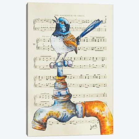 Waterhole Canvas Print #LVE120} by Luna Vermeulen Canvas Print