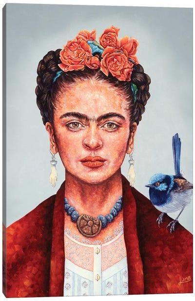 Frida Mania Canvas Art Print