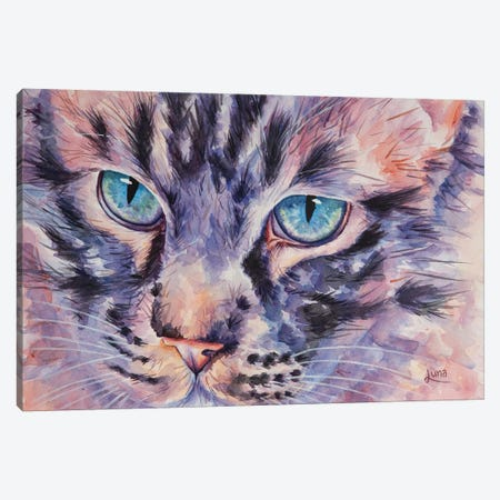 Catsanova Canvas Print #LVE13} by Luna Vermeulen Canvas Print