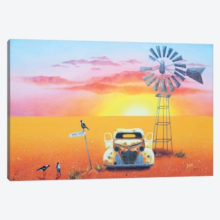 Dingo Creek Canvas Print #LVE141} by Luna Vermeulen Canvas Print