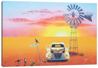Dingo Creek Canvas Art Print