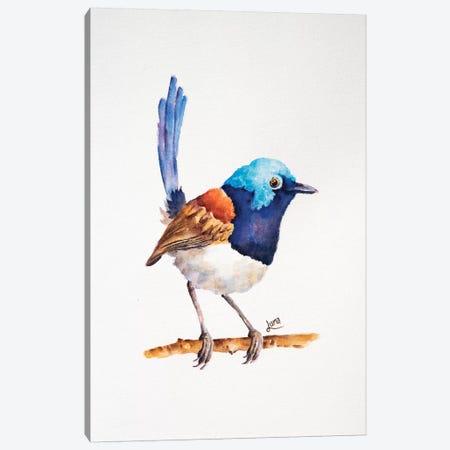 Chirpy Canvas Print #LVE142} by Luna Vermeulen Art Print