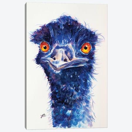 Feeling Blue Canvas Print #LVE148} by Luna Vermeulen Canvas Print