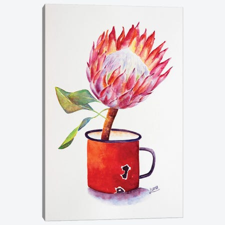 Full Bloom Canvas Print #LVE149} by Luna Vermeulen Canvas Art Print