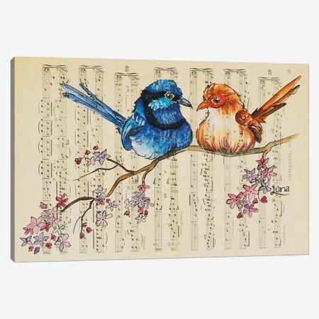 Cherry Ripe Canvas Print #LVE15} by Luna Vermeulen Canvas Artwork