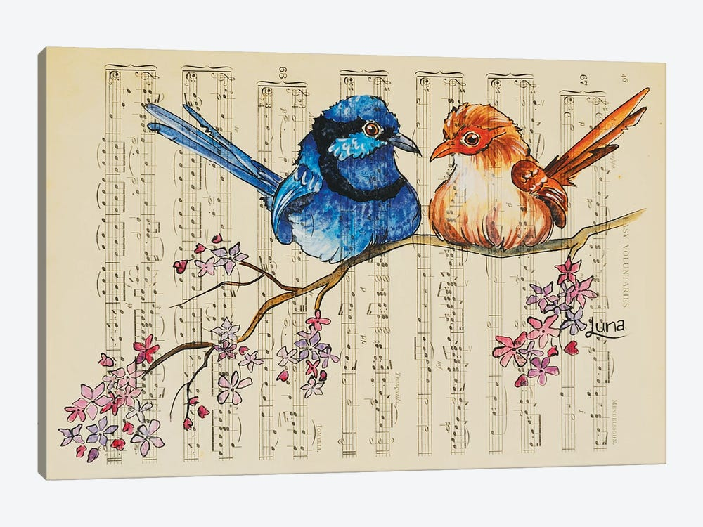Cherry Ripe by Luna Vermeulen 1-piece Canvas Wall Art