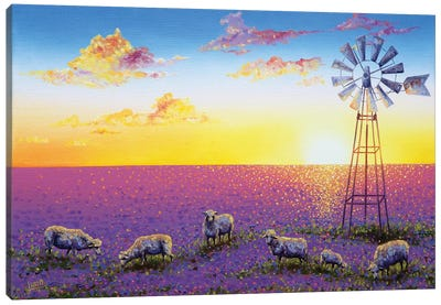 Spring In My Step Canvas Art Print