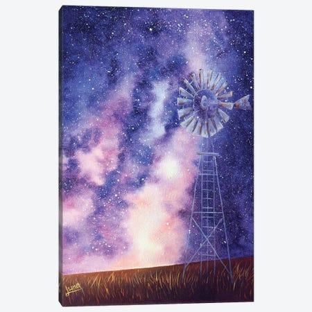 Under The Milky Way Canvas Print #LVE164} by Luna Vermeulen Canvas Wall Art
