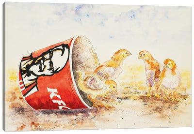 Still Feel Like Chicken Tonight? Canvas Art Print