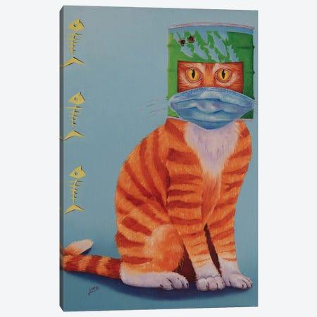 Ned Kitty 2020 Canvas Print #LVE176} by Luna Vermeulen Canvas Print