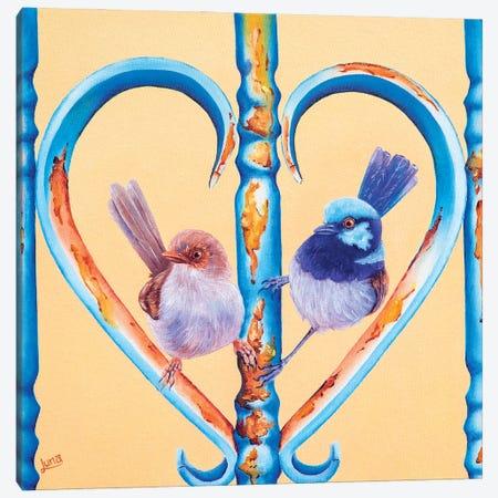My Forever Valentine Canvas Print #LVE179} by Luna Vermeulen Canvas Artwork