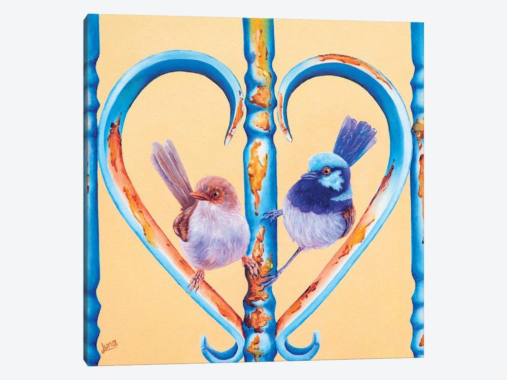 My Forever Valentine by Luna Vermeulen 1-piece Canvas Art
