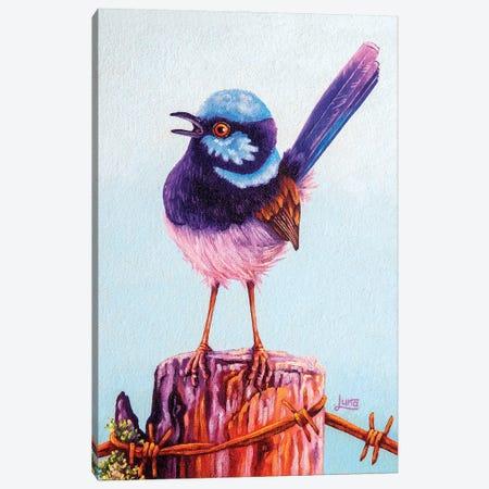 Aussie Post Canvas Print #LVE180} by Luna Vermeulen Art Print