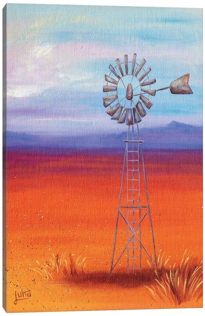 Looking Towards The Sun Canvas Art Print