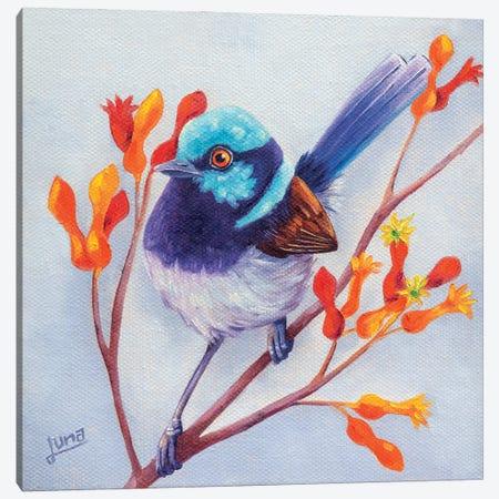 Joy In The Garden 3-Piece Canvas #LVE183} by Luna Vermeulen Canvas Print