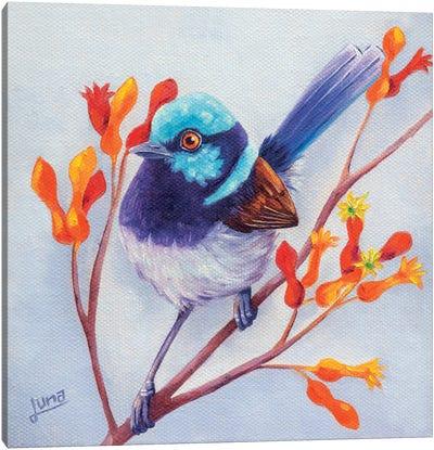 Joy In The Garden Canvas Art Print