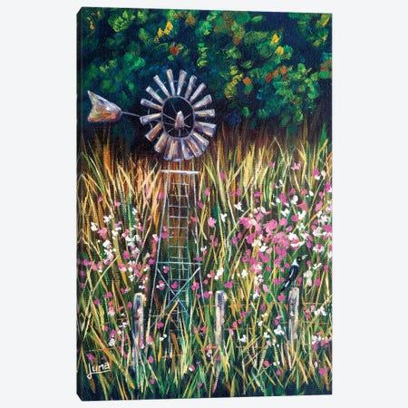 Tranquility Canvas Print #LVE184} by Luna Vermeulen Canvas Artwork