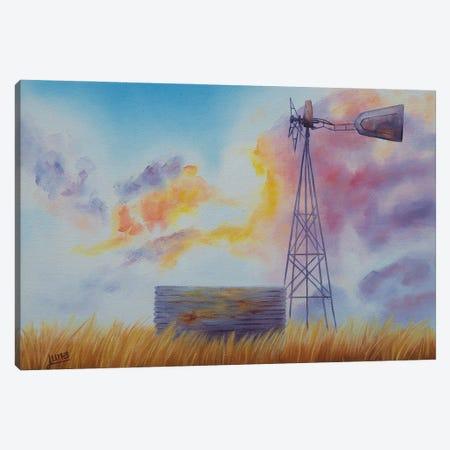 Good Morning Australia Canvas Print #LVE194} by Luna Vermeulen Art Print