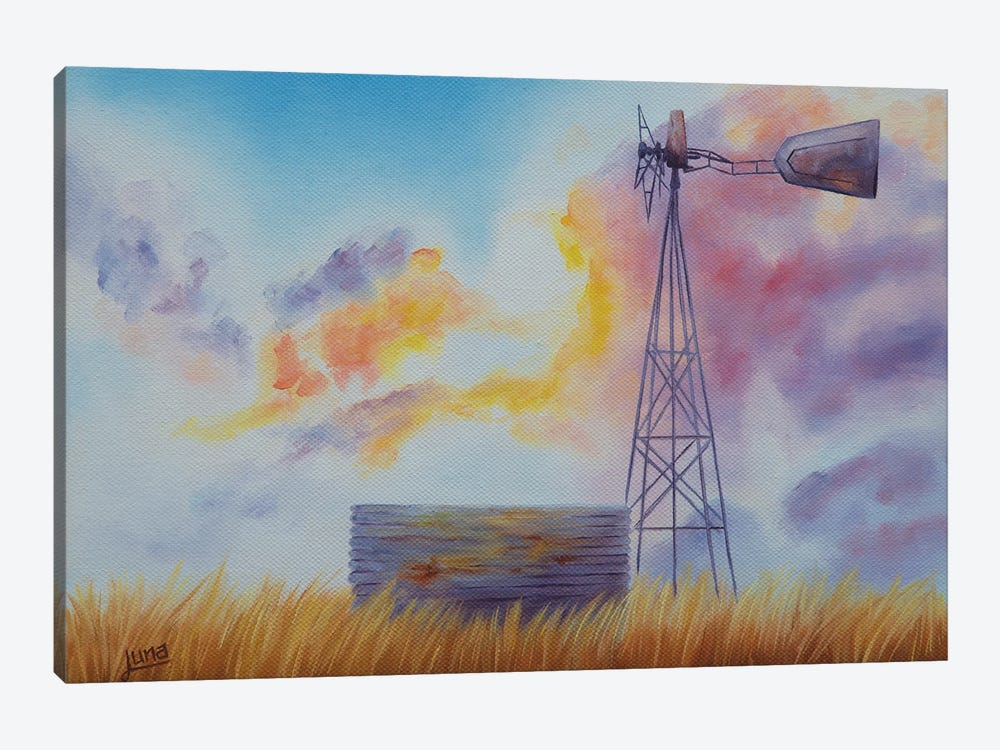 Good Morning Australia by Luna Vermeulen 1-piece Canvas Print