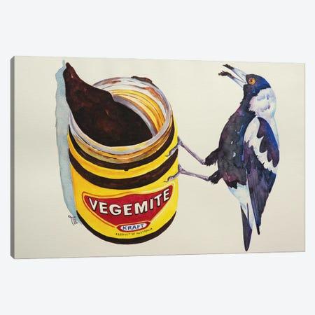 Salty But Sweet Canvas Print #LVE202} by Luna Vermeulen Canvas Artwork