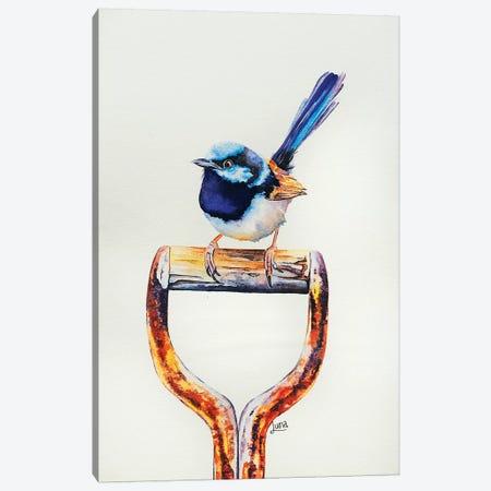 Digging For Grubs Canvas Print #LVE21} by Luna Vermeulen Canvas Art