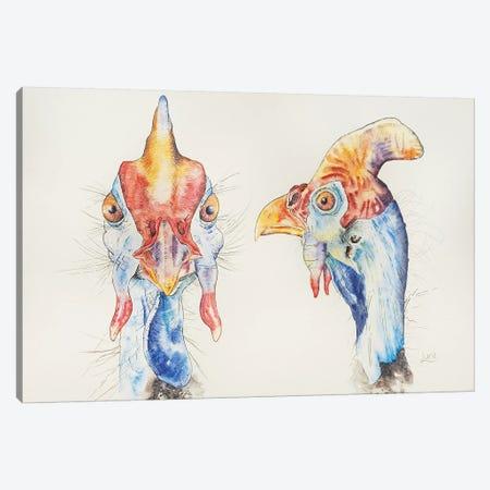 Dotty & Spotty Canvas Print #LVE22} by Luna Vermeulen Canvas Artwork