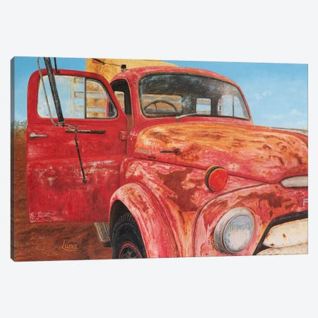 End Of The Road Canvas Print #LVE28} by Luna Vermeulen Canvas Wall Art