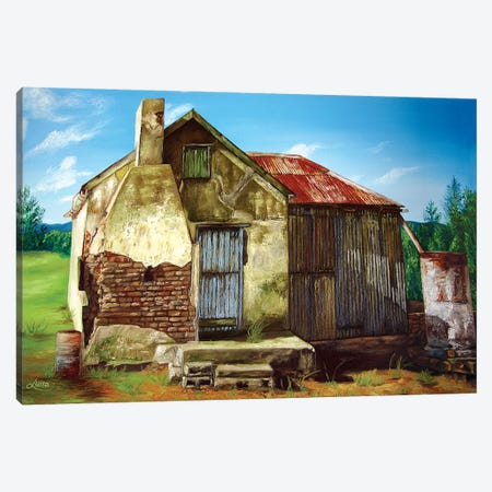 Abandoned In Elands River Valley Canvas Print #LVE2} by Luna Vermeulen Canvas Artwork