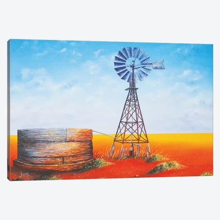Flinders In A Frame Canvas Print #LVE32} by Luna Vermeulen Art Print
