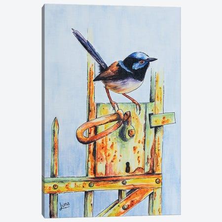 Gatecrasher Canvas Print #LVE38} by Luna Vermeulen Art Print