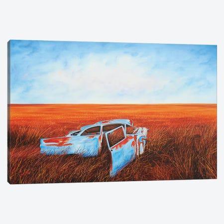 Going Nowhere Slowly Canvas Print #LVE39} by Luna Vermeulen Canvas Print