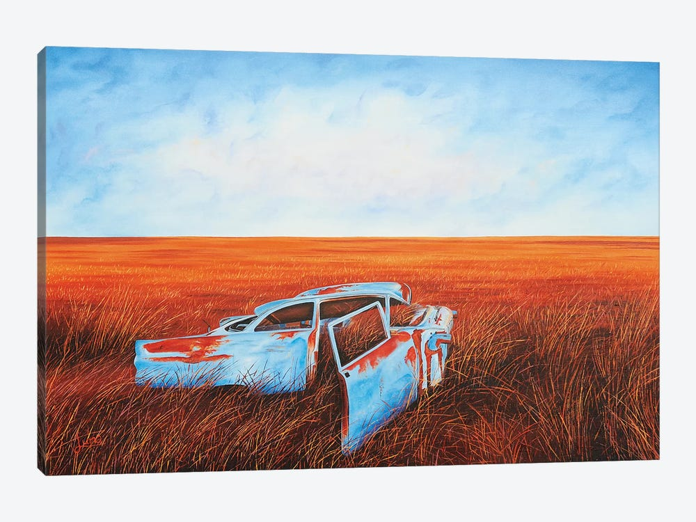 Going Nowhere Slowly 1-piece Canvas Artwork