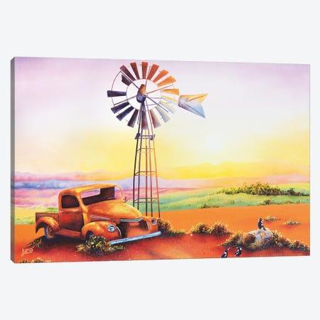 Goodmorning Flinders Canvas Print #LVE40} by Luna Vermeulen Canvas Art